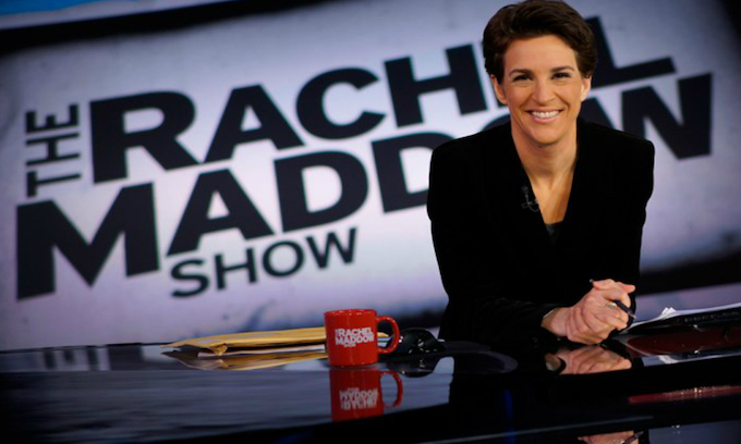 Leftist Rachel Maddow claims Las Vegas shooting worse than 'fully loaded 747' used as terror weapon