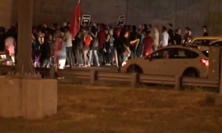 St. Louis police arrest 143 agitators blocking highway