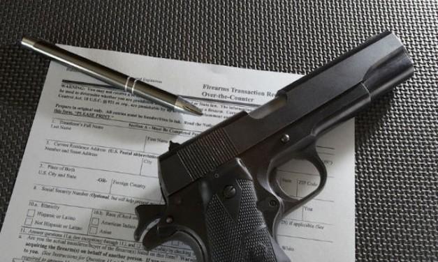 Gun purchase background checks drop in 2017