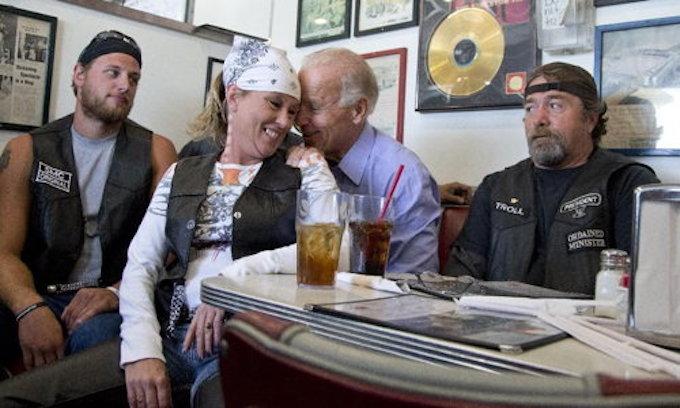 Biden defends 'sin' of praising GOP lawmaker in big-money speech