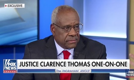 Justice Clarence Thomas talks Supreme Court, family values