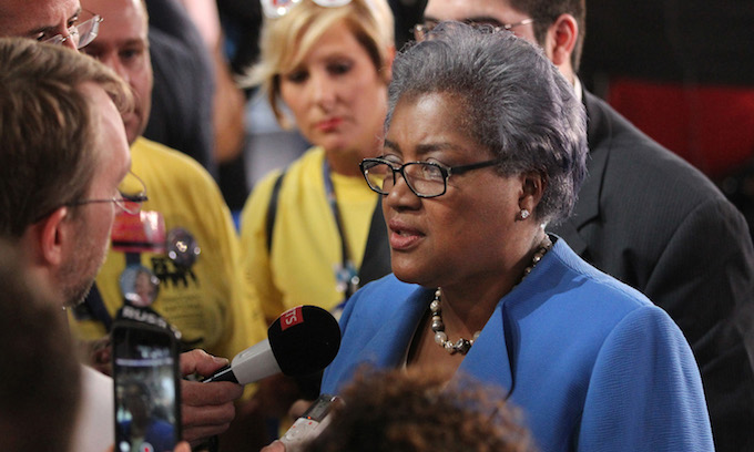 Brazile says Clinton Rigged Primary Election, Obama Left DNC in Debt