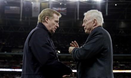 Feud grows between NFL, Cowboys' Jerry Jones over Goodell