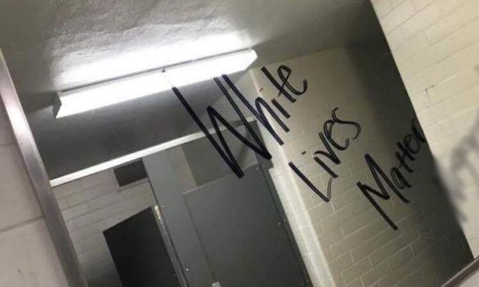 'Non-white' student admits to racist graffiti in Mo. high school bathroom