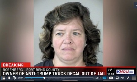 'F— Trump' pickup owner arrested on fraud warrant