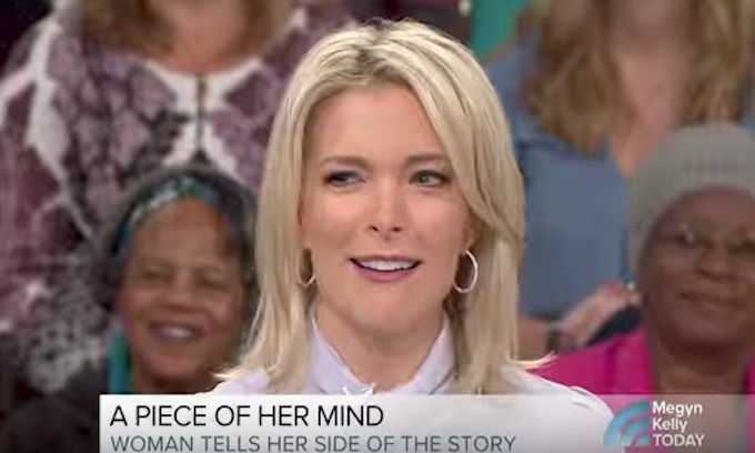 Megyn Kelly gives platform to finger flipping liberal airhead