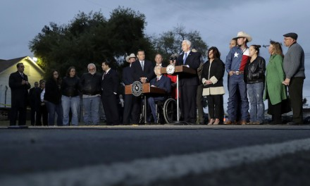 Pence, Abbott visit Sutherland Springs as all victims' names released