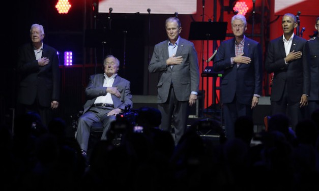 Our Ex-Presidents' Insincere Praise of 'American Generosity'