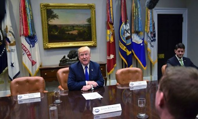 Chuck & Nancy boycott WH meeting; Trump shames them with empty chairs