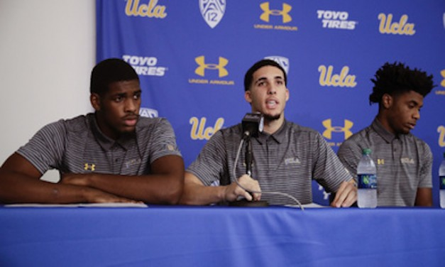 UCLA basketball players caught shoplifting in China thank Trump for release