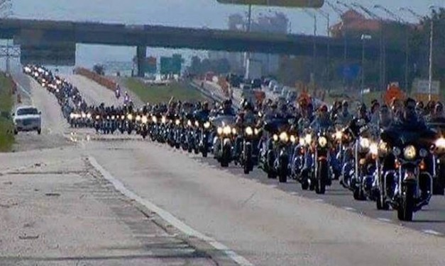 Bikers for Trump rallies for Republicans to help president's agenda