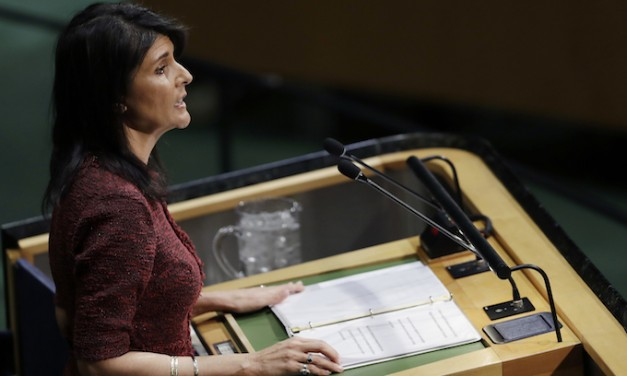 Nikki Haley warns U.S. chemical weapons attack 'could easily happen' here