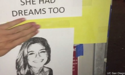 UC San Diego students file complaint, tear down 'racist' pictures of Kate Steinle