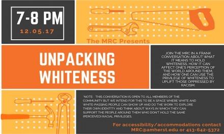 University of Michigan training session devoted to 'unpacking Whiteness'