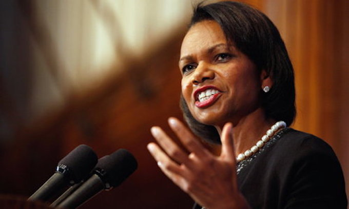 Condoleezza Rice as Cleveland Browns head coach? Not so fast