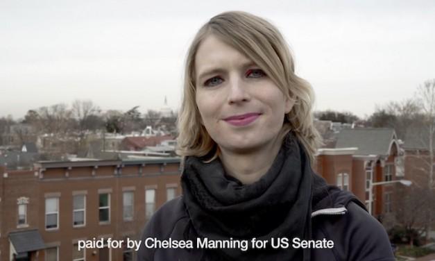 Chelsea Manning takes on Ben Cardin