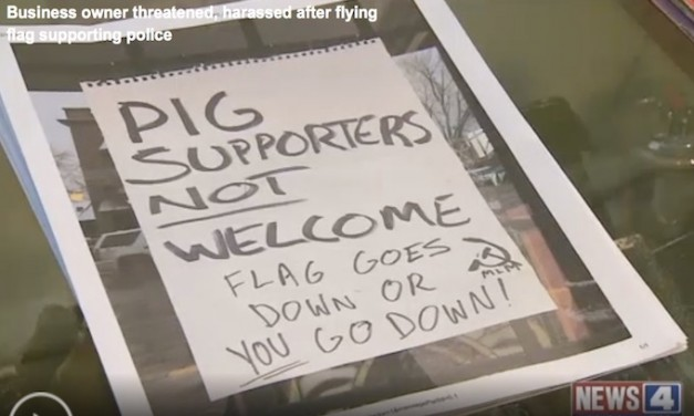 St. Louis business owner threatened for supporting police: 'Pig supporters not welcome'