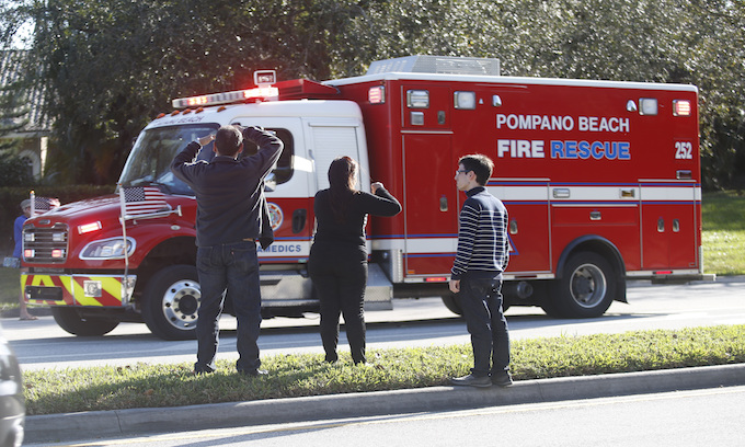 Florida shooter charged with 17 murder counts in school attack