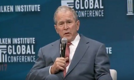 George W. Bush praises borders, calls for immigration amnesty