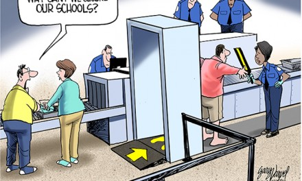Secure airports, secure courtrooms, insecure schools
