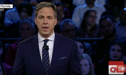 Jake Tapper scolds Trump supporters, says president leading culture 'down the drain'
