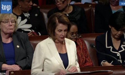 Pelosi filibusters for 8 hours in support of illegal aliens