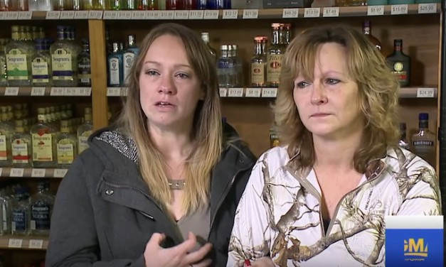 This mother and daughter were thankful they had the right of self defense
