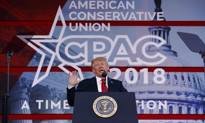 CPAC: Trump points to McCain for health care failure