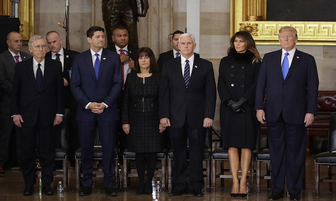 Trump honors 'extraordinary life' of Billy Graham at Capitol ceremony