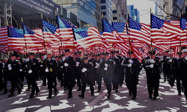 Do Americans still love a parade?