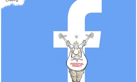 Voluntarily hanging your life on the Facebook cross