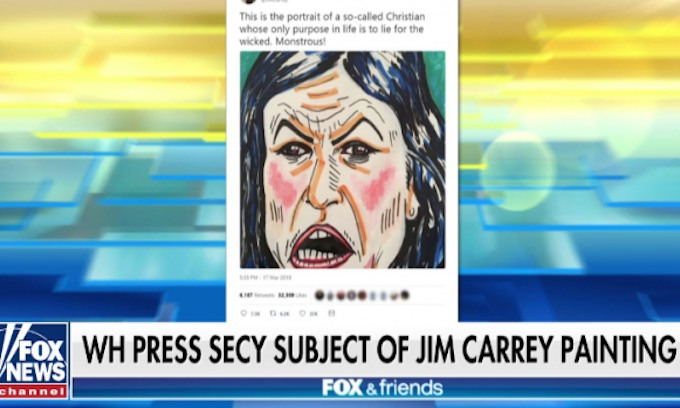 Jim Carrey's attack on Sarah Huckabee Sanders exposes misogyny of left