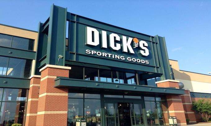 Dick's destroying all the guns it pulled from its shelves