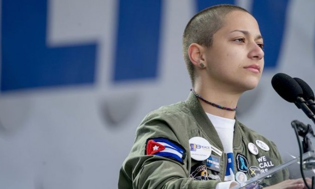 Steve King (R-IA) harassed for pointing out gun control girl's Cuban flag patch