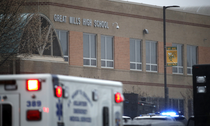 Another school shooting… but with a different result, shooter dead
