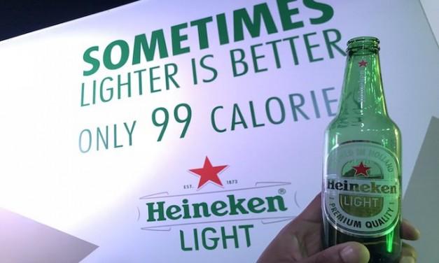 Heineken accused of racism for 'sometimes lighter is better' beer ad