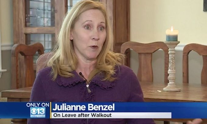 Teacher placed on leave after asking if schools would support pro-life walkout