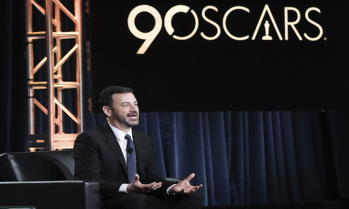 Oscars: Kimmel mocks Mike Pence over film boosting adult/teen male sex