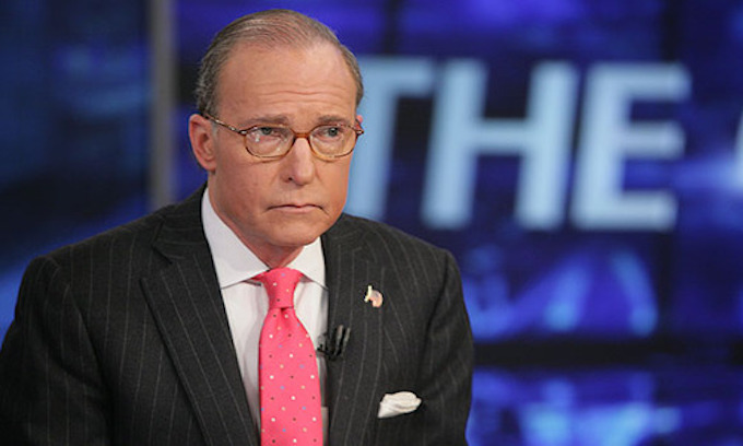 Larry Kudlow had heart attack, Donald Trump says