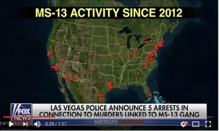 Vegas police say 5 arrests in MS-13 case solves 10 murders