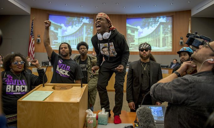 Police arrest more than 80 at protest over acquittals of cops in Stephon Clark case