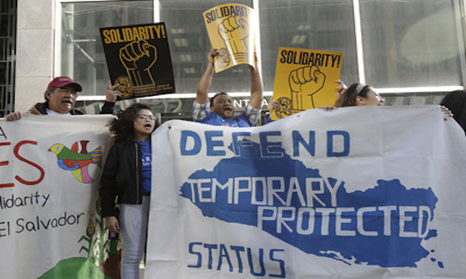 Aliens with expiring temporary status file lawsuit based on racism