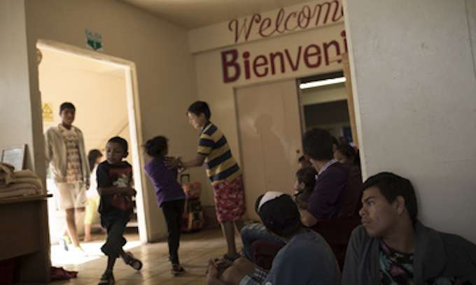 Illegal 'migrant' caravan reaches the US border