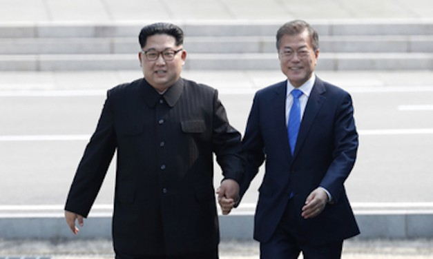 North and South Korean leaders meet