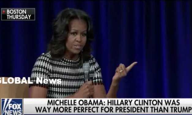 Michelle Obama: Hillary was the best qualified candidate in history