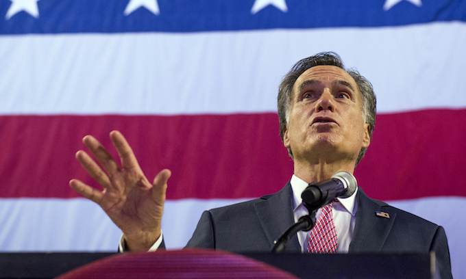Mitt Romney forced into primary in Utah
