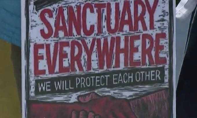 Half of all Americans now live in 'sanctuaries' protecting illegal aliens