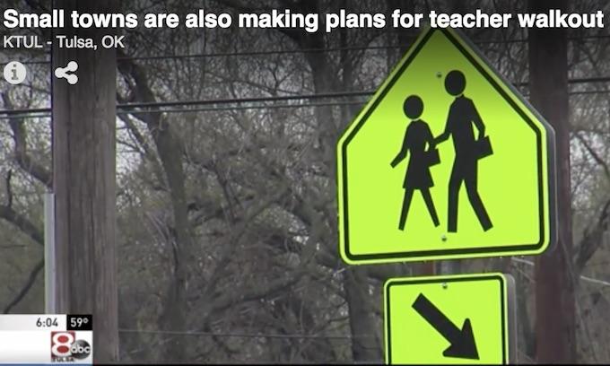 Thousands of Oklahoma, Kentucky teachers walking out of class Monday