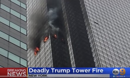 NYC did not require sprinklers at time Trump Tower was built