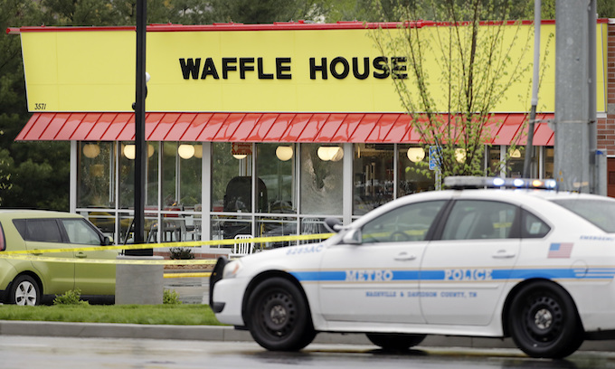 FBI well aware of Waffle House shooting suspect